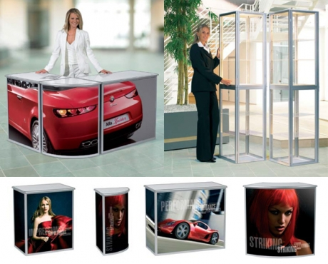 Standex Folding Counters & Showcases