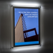 LED Lightscreen wall mounted lightbox