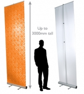 Giant Chi – Roll Up Display
